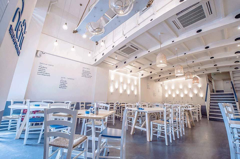 ΛΕΠΙ > Εσωτερικὀς Χώρος Εστιατορίου